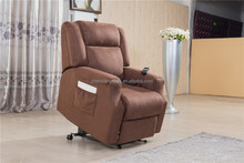 fabric electric recliner lift chair for assistant rise with massage and heat D10