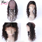Pretty Lady Hair 8A 360 Lace Frontal Brazilian 360 Lace Virgin Hair Any Wave 360 Lace Brand Frontal With Wig Cap Baby Hair
