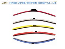 Wholesale Universal colorful auto windscreen soft car wiper blade