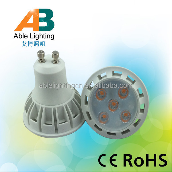high quality cost-effective 85-265V 300lm RA80 5w gu10 led <strong>spotlight</strong>