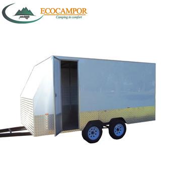 Fiberglass Enclosed Cargo Trailer Motorcycle Trailer Atv Trailer