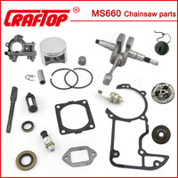 MS660 chainsaw parts