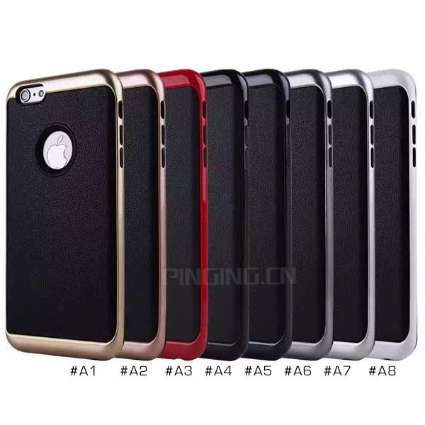 Wholesale Mobile Accessory Durable Hybrid PC TPU Slim Armor Case For iPhone 7 Cover Case
