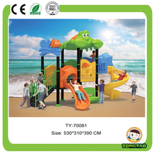 Cheap King Kong Braves Outdoor Playground set,Outdoor Plastic Slides for sale