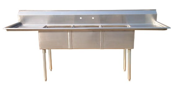 Brushed Commercial Kitchen Sink Stainless Steel - Buy Sink,Kitchen  Sink,Commercial Stainless Steel Sink Product on Alibaba.com
