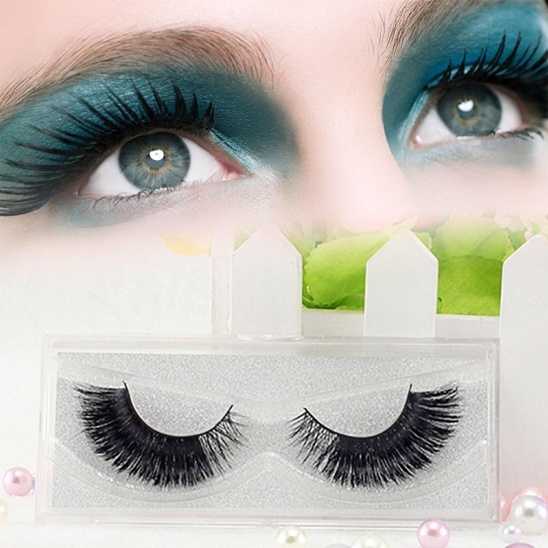 b4efdd4f827 Get Quotations · Hatop 3D Lashes Dramatic Makeup Strip Eyelashes Artificial  Fur Fake Eyelashes Hand-made False Eyelashes