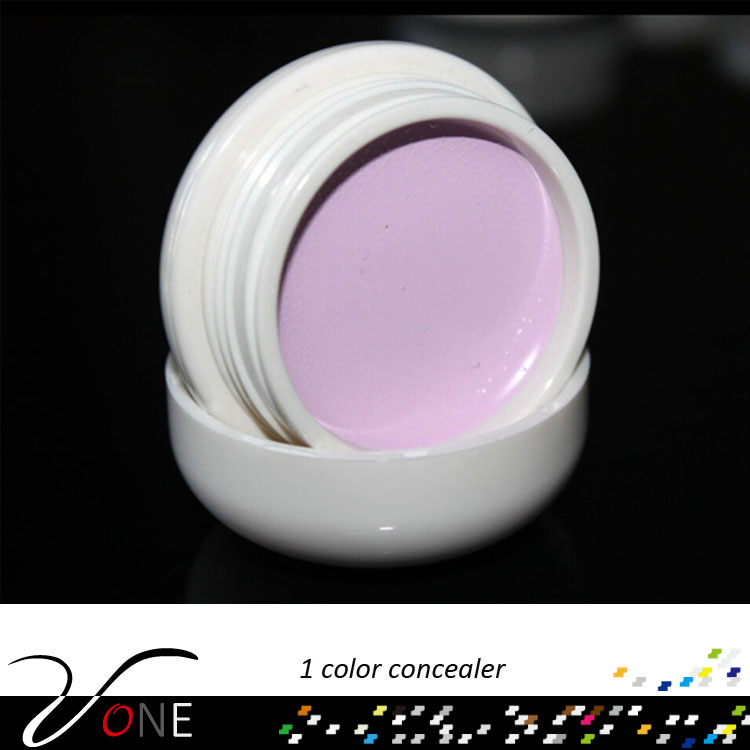 China good price single color makeup face concealer gel cream cake palette cosmetic concealer