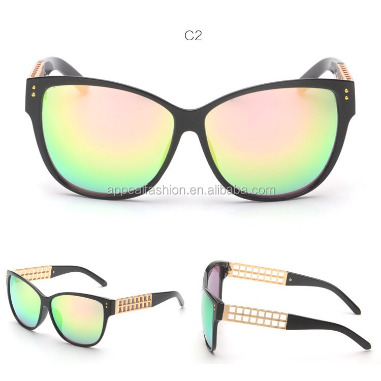 Stylish Sunglasses 2016  whole 2016 latest italy design stylish mirror sunglasses