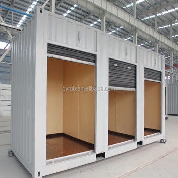 Storage container with special container