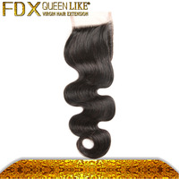 new products affordable natural black european human hair lace free part closure