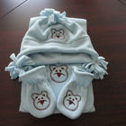fashion kids animal polar fleece hat mitten set / toddler hat scarf sets