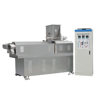 Competitive rice tasty bread chips snack food extruding machine / puffed leisure food making line