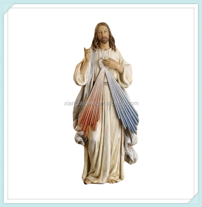 Divine mercy jesus statue figurine 10 Inch for sale