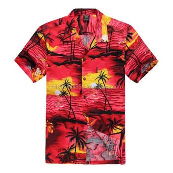 Brauch Hawaii-hemd,Polyester Hawaiihemden,Sommer Hawaiihemden - Buy ...