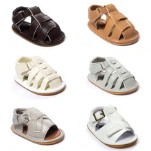 New Street Fashion 2016 New Cool Summer Baby Shoes PU Leather Tassels Toddler Shoes Rubber Soled