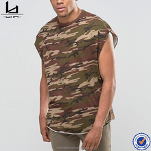 China t shirt factory high quality new design oversized creat your own men hip hop camouflage t shirt