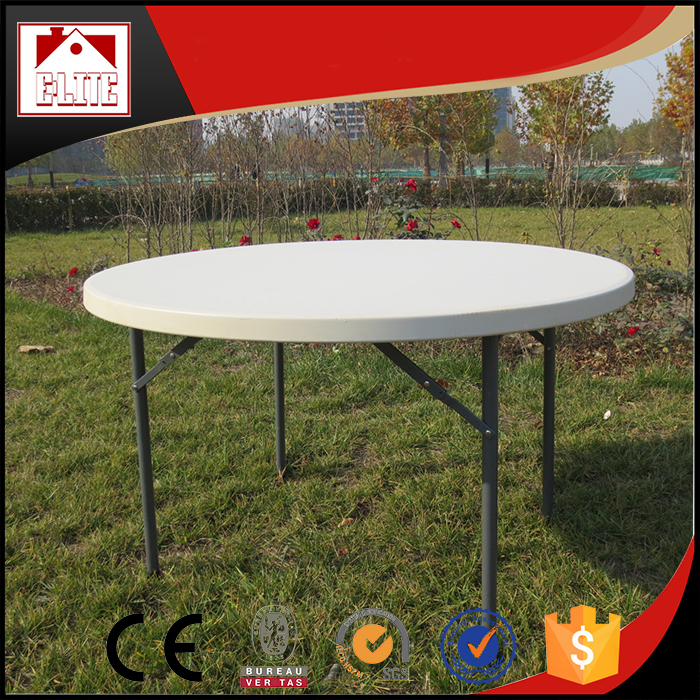 Cheap outdoor hard plastic dining table for sale