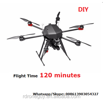 Quadcopter with GPS 30 X optical zoom low light night vision camera hybrid drones frame drone thermal camera