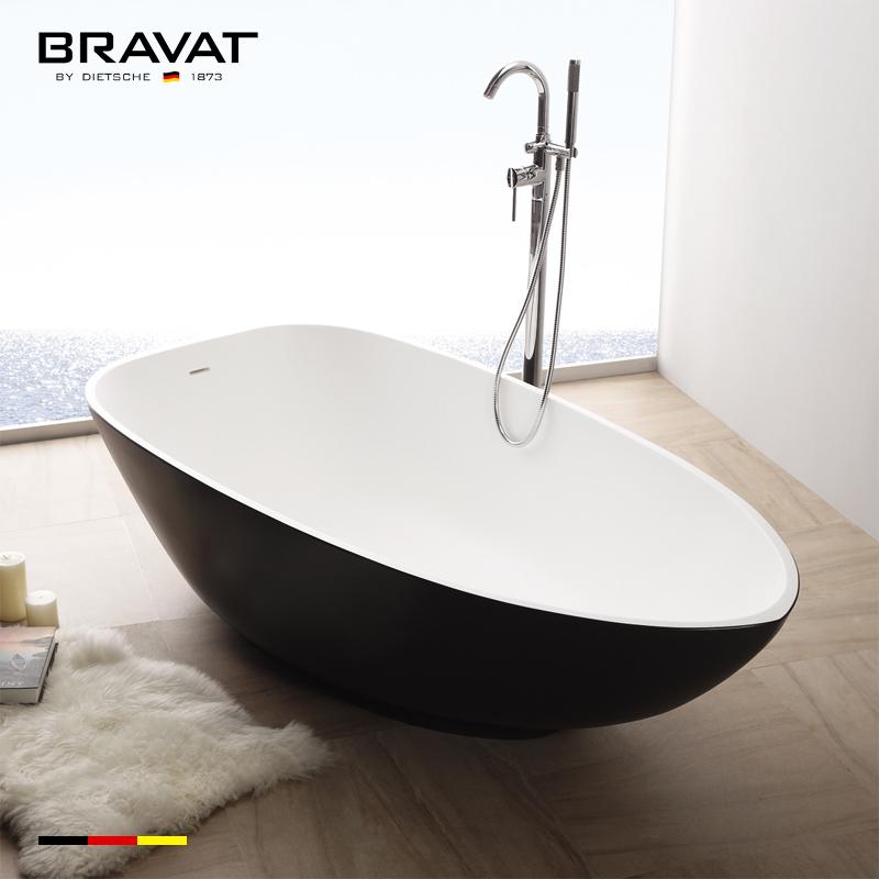 Egg shaped bathtub shower combo newest design B20936W-1