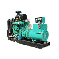 120kw rv diesel generator with mobile silent power station