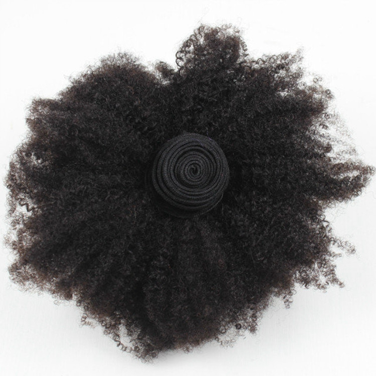 Afro kinky curly hair for braiding 4b-4c natural unprocessed brazilian virgin remy Hair Weave on stock