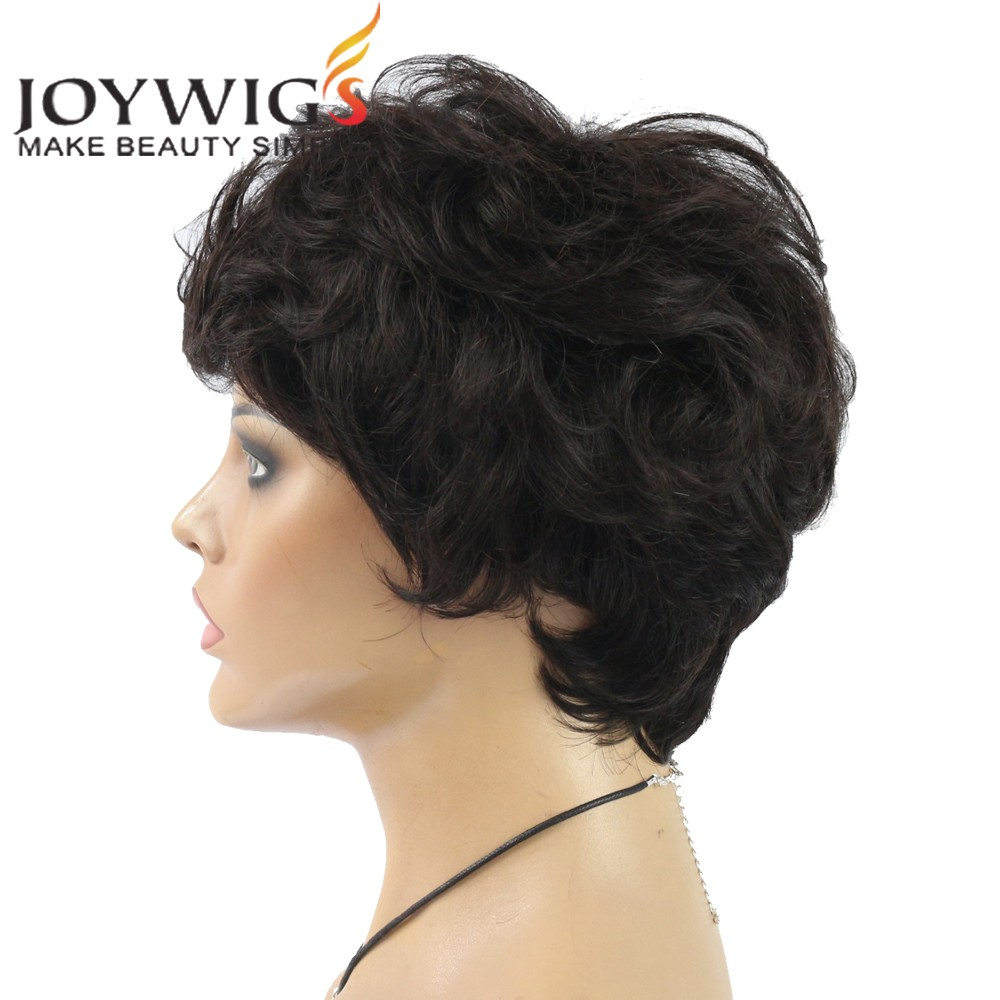 8A Grade Brazilian Human Hair Glueless Lace Front Human Hair Short Bob Wigs For Black Women