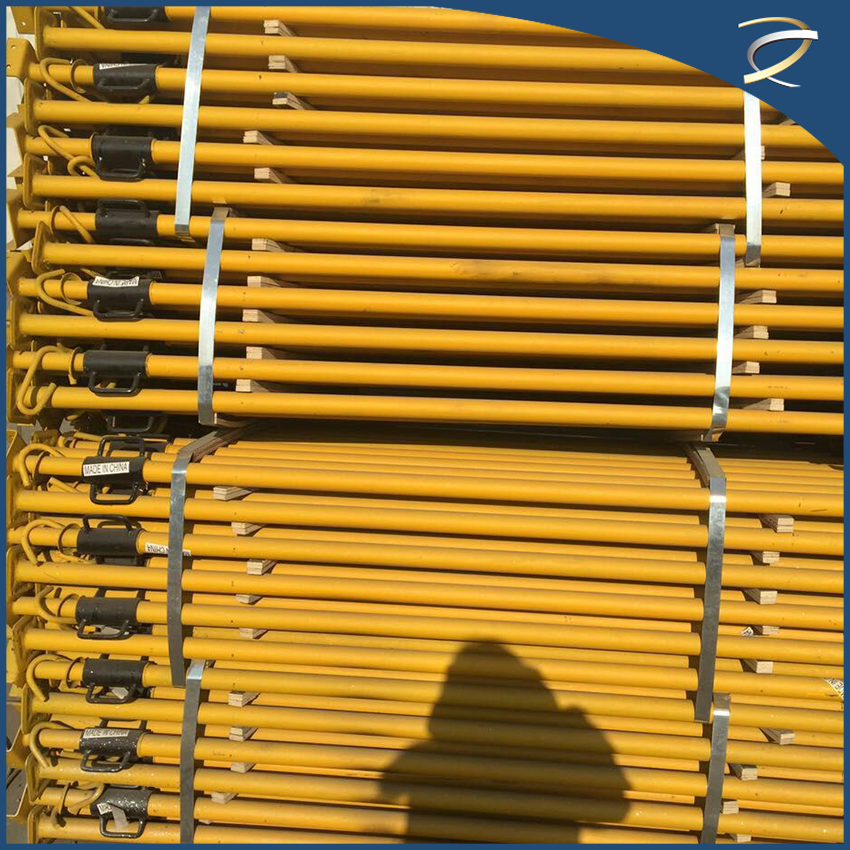 British Type 1.6Mm-3.5Mm Scaffolding Sizes Standard For Construction