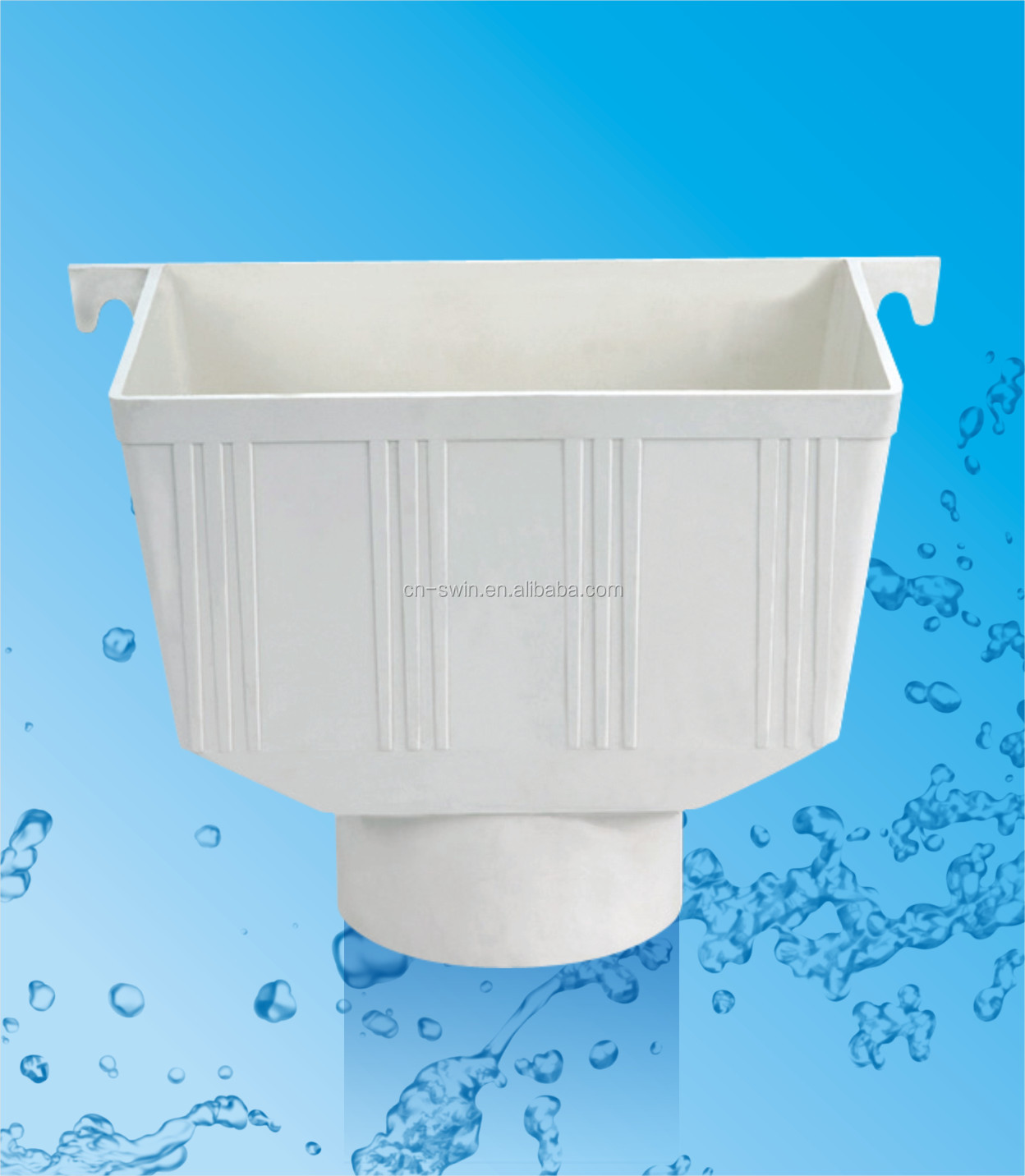 4 Inch Pvc Water Pipe Fitting/ Rain Roof Drain Water Gutter System - Buy  Pvc Sanitary Pipes Fittings,Pvc Seamless Pipe Fittings,4 Inch Pvc Fitting