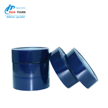 China supplier blue film in south africa PVC electroplating blue film surface protection tape
