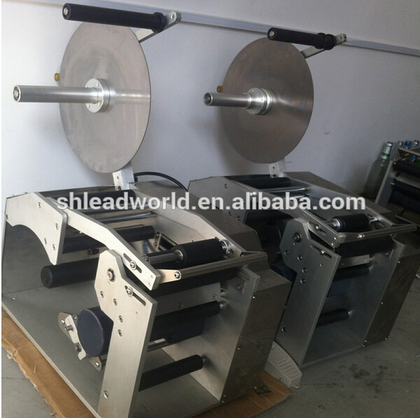 Manual square bottle labeling machine for small business