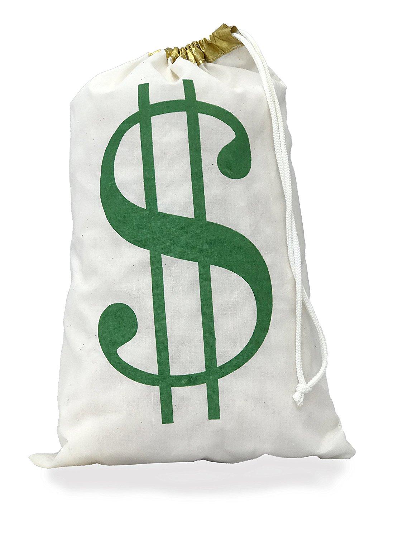 a522b7e548 Get Quotations · DESIGN CORRAL Money Bag Large Money Bag Drawstring Money  Bag Large Money Bag