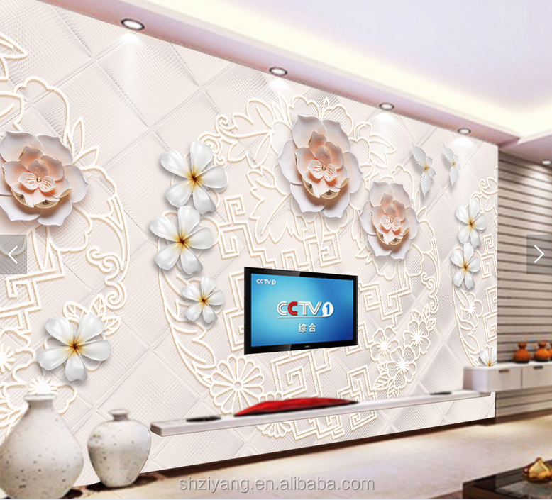 3d Wallpaper Mural Price For Dinding Cafe From China Buy