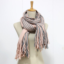 New fashion 100% acrylic knitted winter christmas women scarf LC177