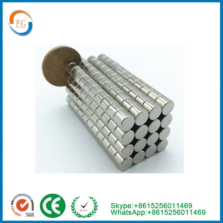 Strong neodymium magnet Pulling Force D6*5mm NdFeB Magnets