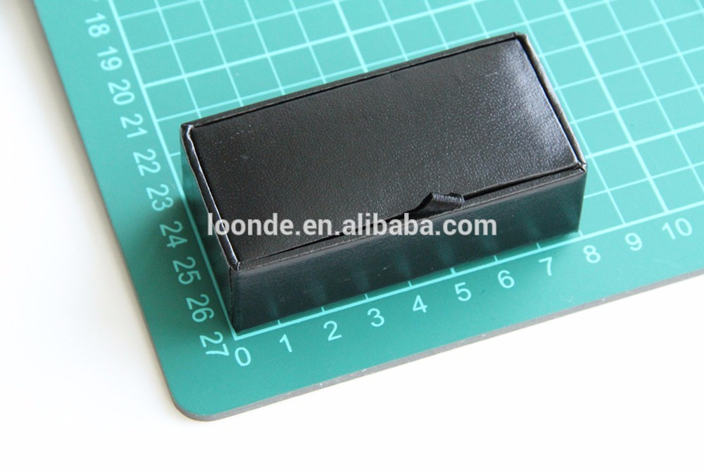 Nice handcrafted jewelry boxes or cufflink case for men jewelry display packaging
