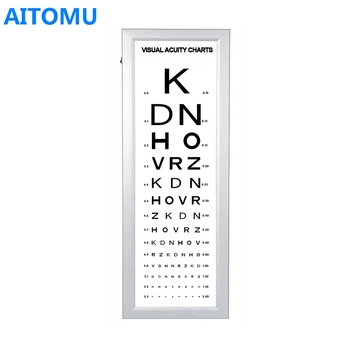 Snellen Chart Visual Eye Test Chart Panel Box With Low Price Buy
