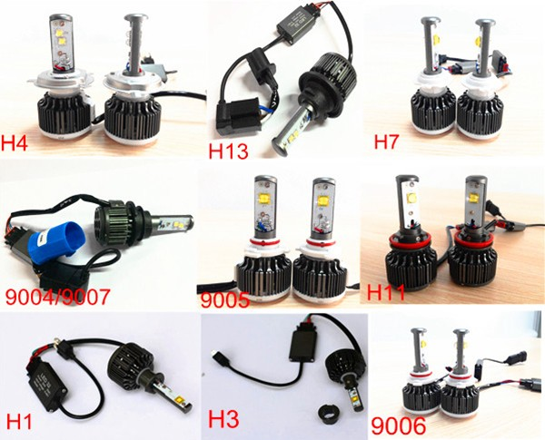 Auto Parts 3600lm Led Headlight China Supplier Led Headlight 12 ...