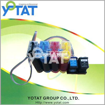 Continuous Ink Supply System C5010A C5011A C5010D C5011D for HP14