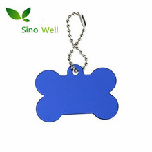 Newest sale blank charming anodized aluminum dog tag