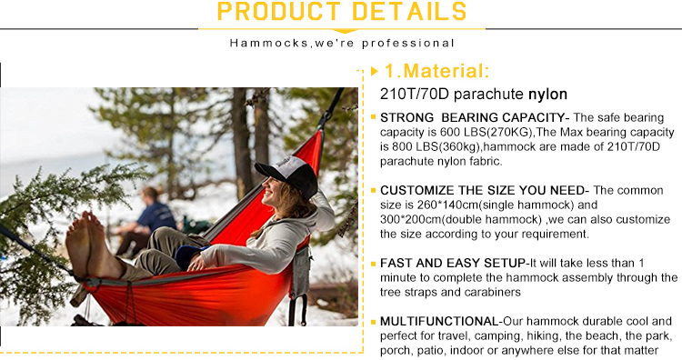 Outdoor double hammock with foldable stand rattan tent