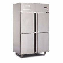 Commercial Stainless Steel Freezers Upright fridge cabinet