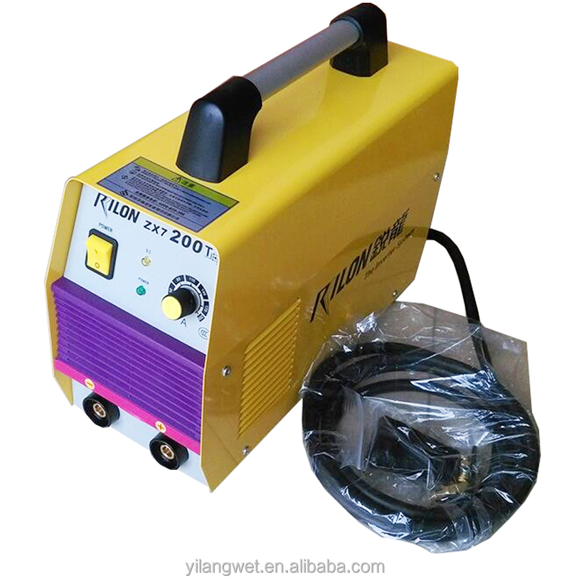 Rilon portable ARC inverter welding machine mma-200 igbt