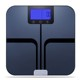 4*Batteries 180kg/400lbs Unique/OEM IOS&android Digital Body Weighing Scale With Bluetooth Glass BMI