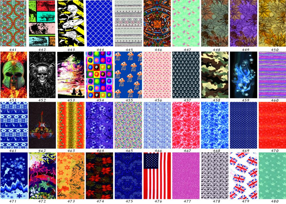 100%polyester Seamless wholesale elastic magic multifunctional bandana