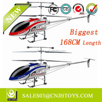 168CM 3.5 Channels Biggest Rc Helicopter Alloy QS8008 Rc Helicopter