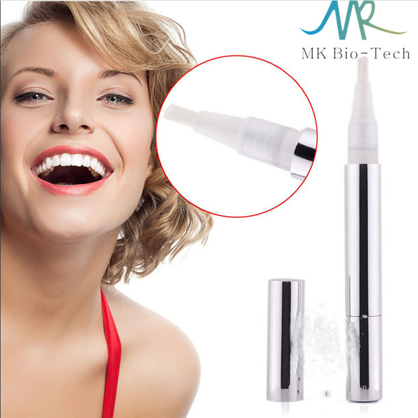 Fast effective aluminum 2ml white smile teeth whitening pen