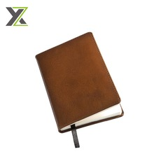 High quality Modern range diary PU leather notebook with striped flap