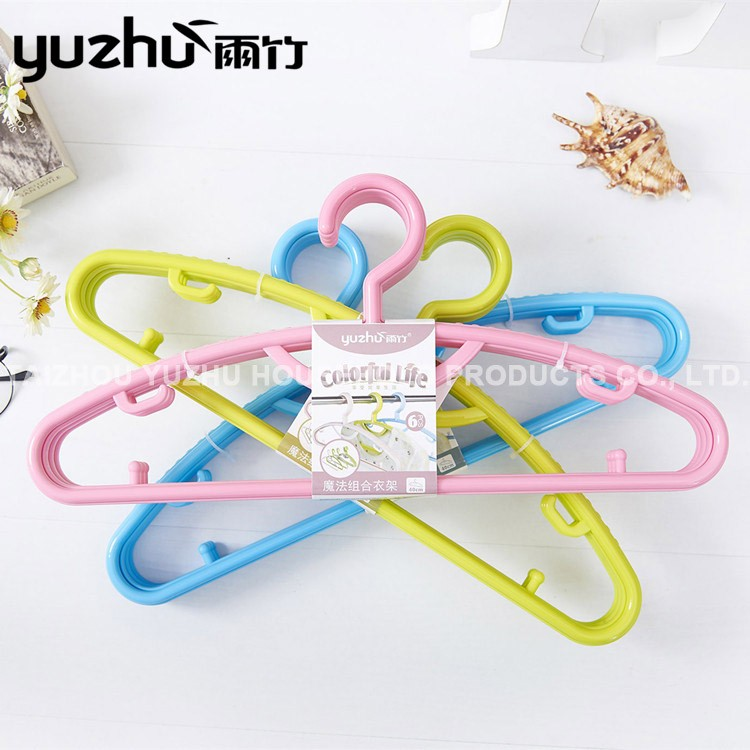 China Manufacturer Factory Direct Plastic Coat Hangers