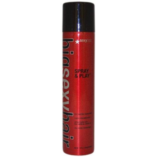 Sexy Hair Big Sexy Hair Spray & Play Professional Volumizing Hairspray, Provides Lift, Hold and Shine - 10oz