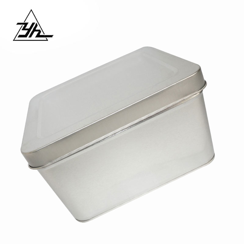 metal container square tin can customized 5L ink can